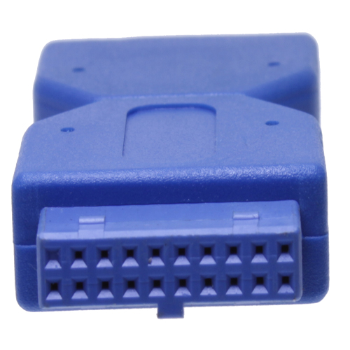 19-Pin Header Female to 19-Pin Header Male Adapter