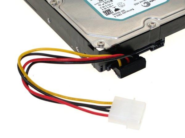 SATA serial ata power cable adapter to molex 4-pin